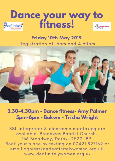 Dance your way to fitness - Fri 10.5.2019 - Derby - 3pm-6pm (1)